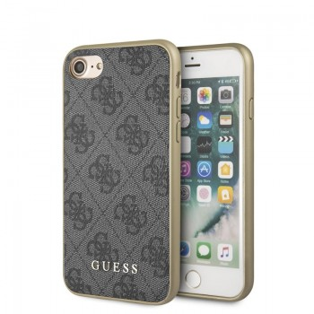 Guess 4G Charms Collection - Etui iPhone SE 2020 / 8 / 7 (szary)