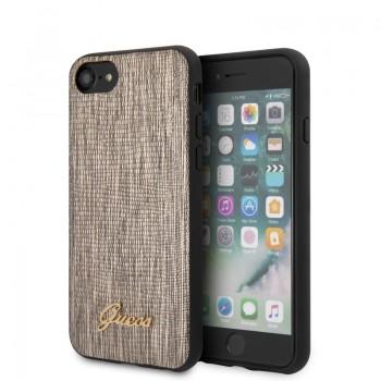 Guess Lizard Case - Etui iPhone SE 2020 / 8 / 7 (Gold)
