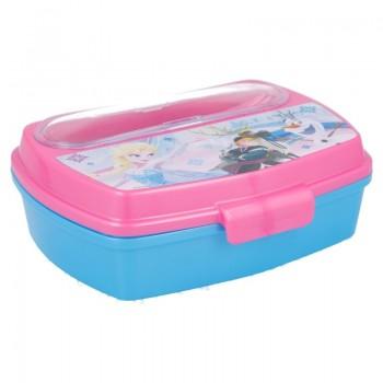 Frozen - Lunchbox z kompletem sztućców