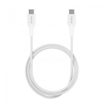 PURO Fast Charging Plain Type-C Cable - Kabel USB-C 2.0 na USB-C 2.0 do ładowania & synchronizacji danych, 2A, 480 Mbps, 2 m (bi