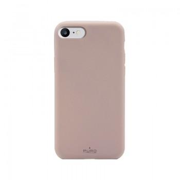 PURO Green Compostable Eco-friendly Cover - Ekologiczne etui iPhone SE 2020 / 8 / 7 / 6s (piaskowy róż)