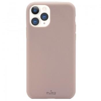 PURO Green Compostable Eco-friendly Cover - Ekologiczne etui iPhone 11 Pro (piaskowy róż)