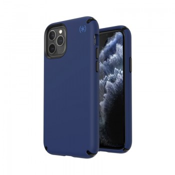 Speck Presidio2 Pro - Etui iPhone 11 Pro z powłoką MICROBAN (Coastal Blue/Black/Storm Grey)
