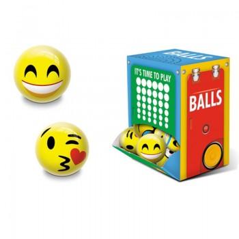 Emoji - Piłka gumowa 60 mm Wybór Losowy