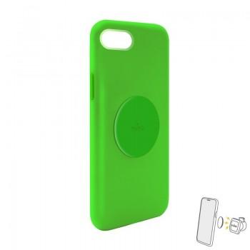PURO ICON+ Cover - Etui magnetyczne iPhone SE 2020 / 8 / 7 / 6s / 6 (zielony)