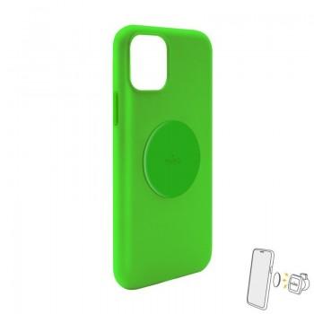 PURO ICON+ Cover - Etui magnetyczne iPhone 11 (zielony)