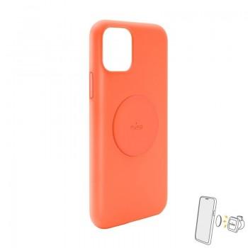 PURO ICON+ Cover - Etui magnetyczne iPhone 11 (pomarańczowy)