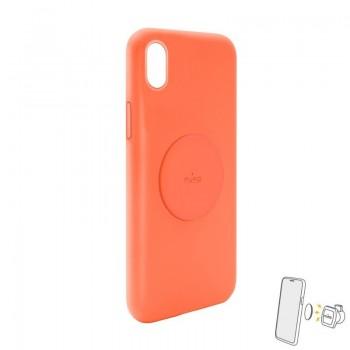 PURO ICON+ Cover - Etui magnetyczne iPhone XR (pomarańczowy)