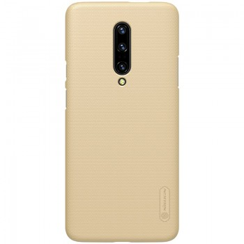 Nillkin Super Frosted Shield - Etui OnePlus 7 Pro (Golden)