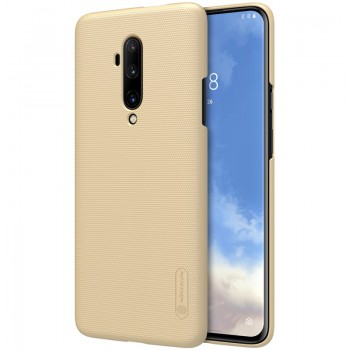 Nillkin Super Frosted Shield - Etui OnePlus 7T Pro (Golden)