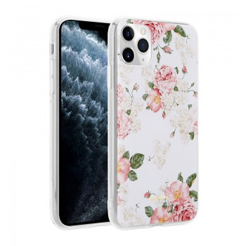 Crong Flower Case – Etui iPhone 11 Pro (wzór 02)