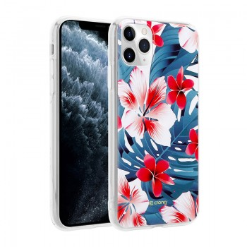 Crong Flower Case – Etui iPhone 11 Pro (wzór 03)