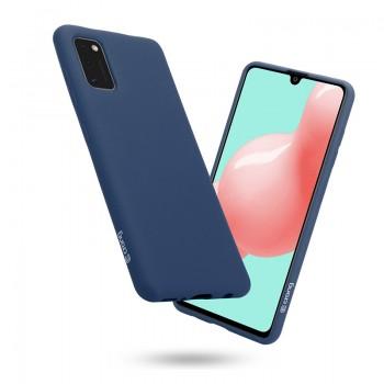 Crong Color Cover - Etui Samsung Galaxy A41 (niebieski)