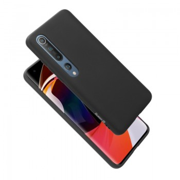 Crong Color Cover - Etui Xiaomi Mi 10 (czarny)