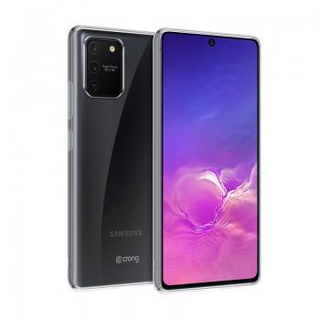 Crong Crystal Slim Cover - Etui Samsung Galaxy S10 Lite (przezroczysty)