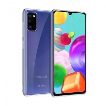 Crong Crystal Slim Cover - Etui Samsung Galaxy A41 (przezroczysty)