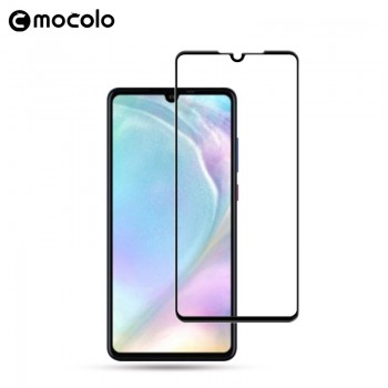 Mocolo 3D 9H Full Glue - Szkło ochronne na cały ekran Huawei P30 (Black)