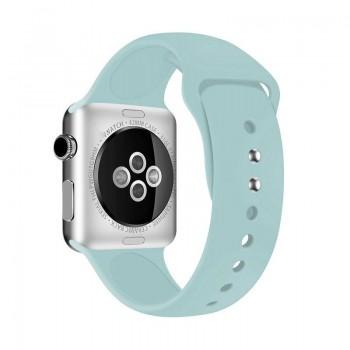 Crong Liquid Band - Pasek Apple Watch 42/44 mm (turkusowy)