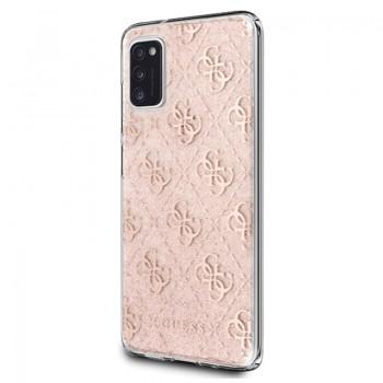 Guess 4G Glitter - Etui Samsung Galaxy A41 (Pink)