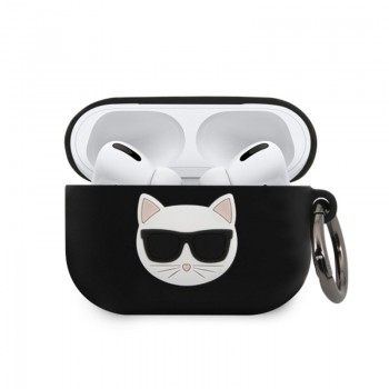 Karl Lagerfeld Choupette 3D - Etui Apple Airpods Pro (black)