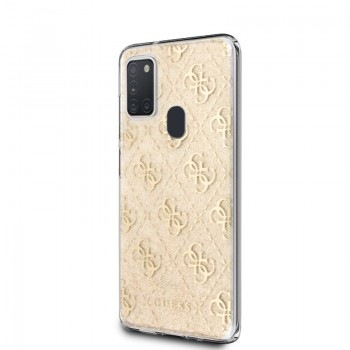 Guess 4G Glitter - Etui Samsung Galaxy M21 (Gold)