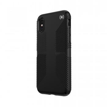 Speck Presidio2 Grip - Etui iPhone Xs / X z powłoką MICROBAN (Black)