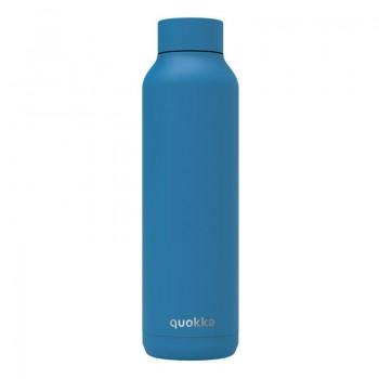 Quokka Solid -  Butelka termiczna ze stali nierdzewnej 630 ml (Bright Blue)(Powder Coating)