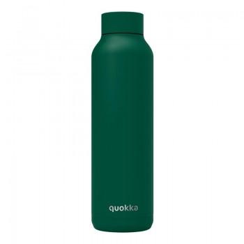 Quokka Solid -  Butelka termiczna ze stali nierdzewnej 630 ml (Dark Forest)(Powder Coating)
