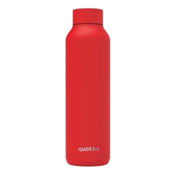 Quokka Solid -  Butelka termiczna ze stali nierdzewnej 630 ml (Quartz Lava)(Powder Coating)