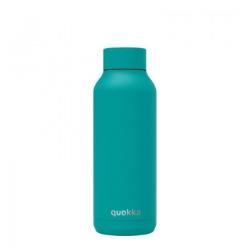 Quokka Solid -  Butelka termiczna ze stali nierdzewnej 510 ml (Bold Turquoise)(Powder Coating)