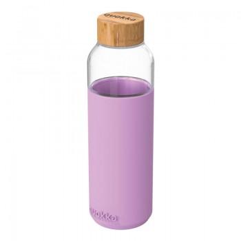 Quokka Flow -  Butelka na wodę ze szkła 660 ml (Lilac)