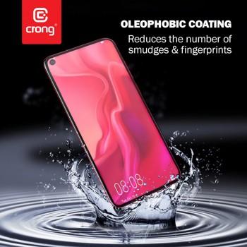 Crong 7D Nano Flexible Glass - Szkło hybrydowe 9H na cały ekran Samsung A71 / A81 / A91 / S10 LITE / NOTE10 LITE
