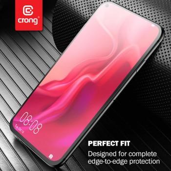 Crong 7D Nano Flexible Glass - Szkło hybrydowe 9H na cały ekran Xiaomi Redmi 9