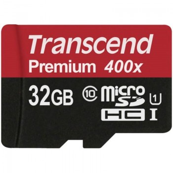 Transcend Memory MicroSDHC Class 10 UHS-I - Karta pamięci 32 GB