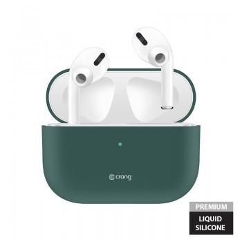 Crong Liquid Case - Etui AirPods Pro (zielony)