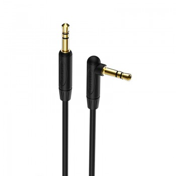 Borofone BL4 - kabel audio 3.5mm mini-jack 1m (czarny)
