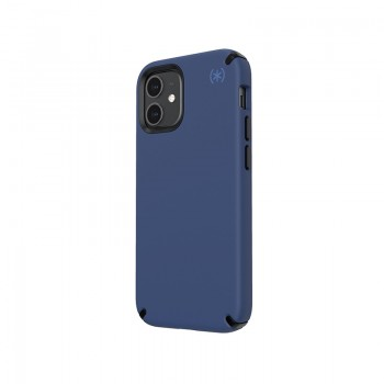 Speck Presidio2 Pro - Etui iPhone 12 Mini z powłoką MICROBAN (Coastal Blue/Stormblue)