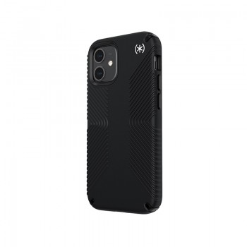 Speck Presidio2 Grip - Etui iPhone 12 Mini z powłoką MICROBAN (Black)