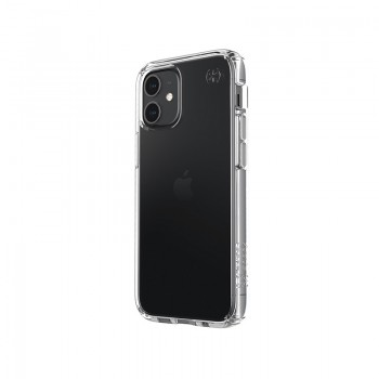 Speck Presidio Perfect-Clear - Etui iPhone 12 Mini z powłoką MICROBAN (Clear)