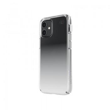 Speck Presidio Perfect-Clear + Ombre -  Etui iPhone 12 Mini z powłoką MICROBAN (Clear/Atmosphere Fade)