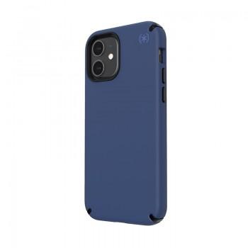 Speck Presidio2 Pro - Etui iPhone 12 / iPhone 12 Pro z powłoką MICROBAN (Coastal Blue/Stormblue)