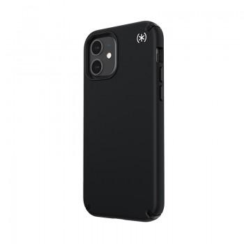 Speck Presidio2 Pro - Etui iPhone 12 / iPhone 12 Pro z powłoką MICROBAN (Black)