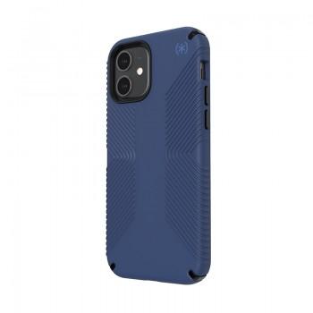 Speck Presidio2 Grip - Etui iPhone 12 / iPhone 12 Pro z powłoką MICROBAN (Coastal Blue/Stormblue)
