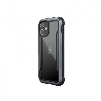 X-Doria Raptic Shield - Etui aluminiowe iPhone 12 Mini (Drop test 3m) (Black)