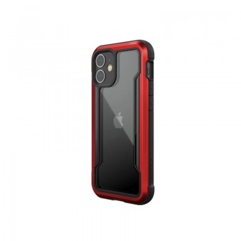 X-Doria Raptic Shield - Etui aluminiowe iPhone 12 Mini (Drop test 3m) (Red)