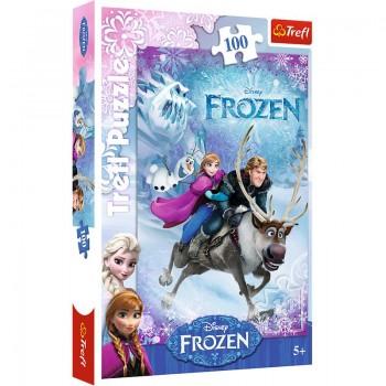 Trefl - Puzzle Frozen Na Ratunek Annie 100 ele.