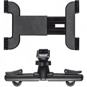 Trust Universal Car Headrest Holder - Uchwyt samochodowy do tableta z mocowaniem do zagłówków
