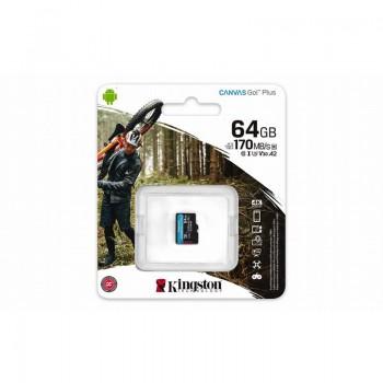 Kingston Canvas Go Plus microSDXC - Karta pamięci 64 GB