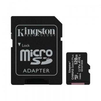 Kingston Canvas Select Plus microSDXC - Karta pamięci 128 GB z adapterem