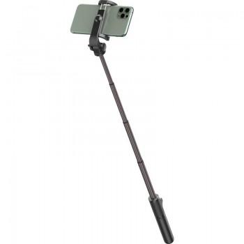 Baseus Lovely Selfie Stick - teleskopowy rozsuwany kijek selfie + statyw z pilotem Bluetooth